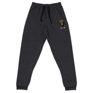 Comizzzle_Pray_Hustle_Repeat_Joggers_Black_Heather