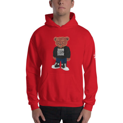 Comizzzle_Pray_Hustle_Repeat_Hoodie_Red