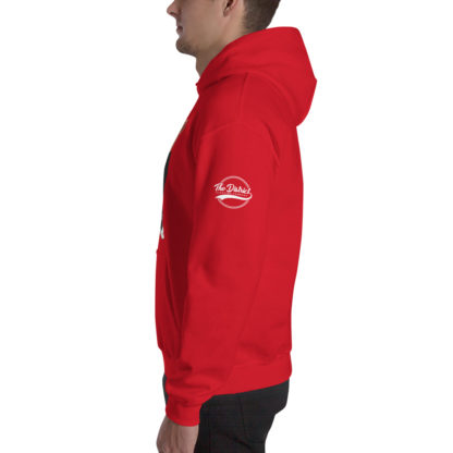 Comizzzle_Pray_Hustle_Repeat_Hoodie_Red_Side
