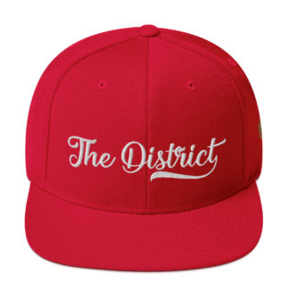 The_District_Clothing_Company_Snapback_Red