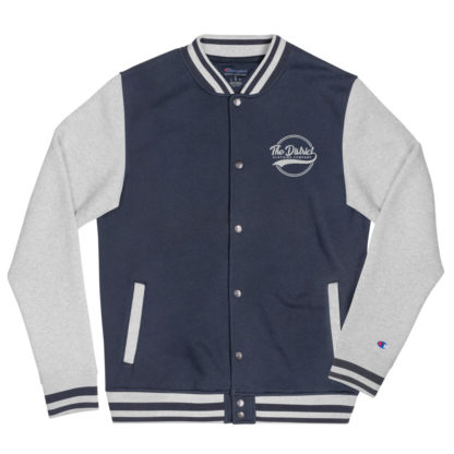The_District_Embroidered_Bomber_Jacket_Navy_Oxford_Grey_Mockup