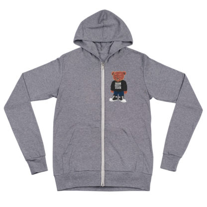 Comizzzle_Pray_Hustle_Repeat_Zip_Hoodie_Grey