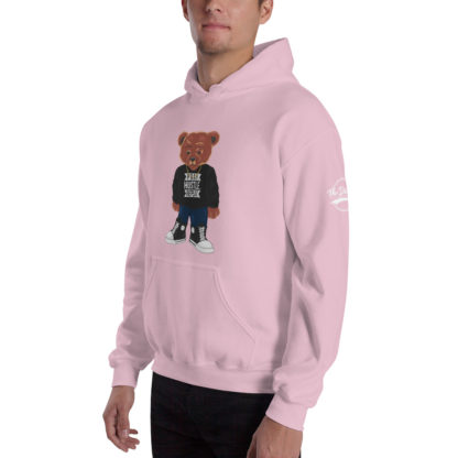 Comizzzle_Pray_Hustle_Repeat_Hoodie_Pink_Angle