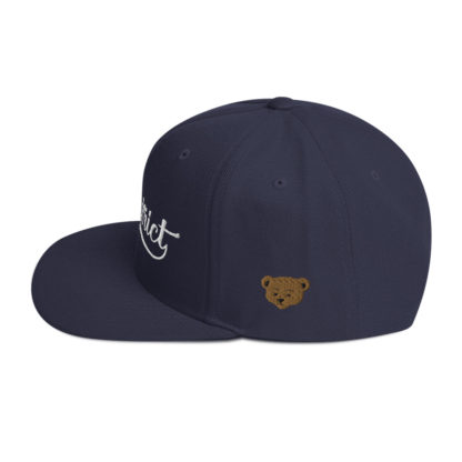 The_District_Clothing_Company_Snapback_Navy_Blue_Side
