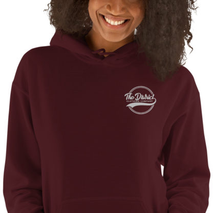 The_District_Clothing_Company_Embroidered_Hoodie_Maroon_1