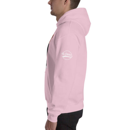 Comizzzle_Pray_Hustle_Repeat_Hoodie_Pink_Side