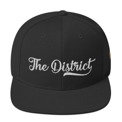 The_District_Clothing_Company_Snapback_Black