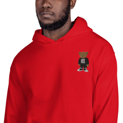 Comizzzle_Pray_Hustle_Repeat_Embroidered_Hoodie_Red_1